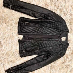 Jackets & Blazers - American culture leather jacket